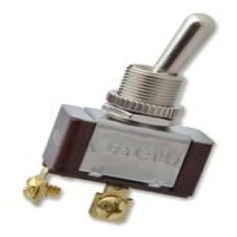 Toggle Switch,SPST,10A @ 277V,Screw EATON XTD1A2A2