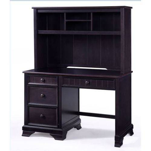Better Homes and Gardens Sebring Desk with Hutch, Espresso