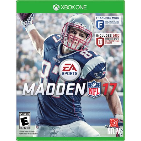 Madden Nfl 17  Xbox One  With Bonus 500 Madden Nfl 17 Ultimate Team Points
