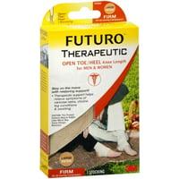 FUTURO Therapeutic Support Open Toe/Heel, Knee High, Firm Compression L