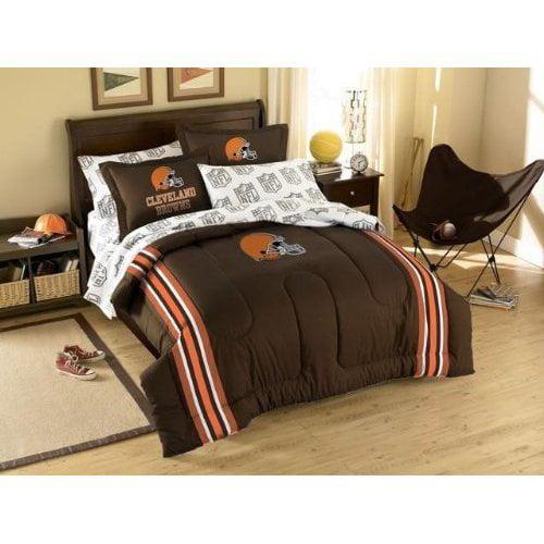 Cleveland Browns NFL Twin/Full Comforter Pillow Sham Set