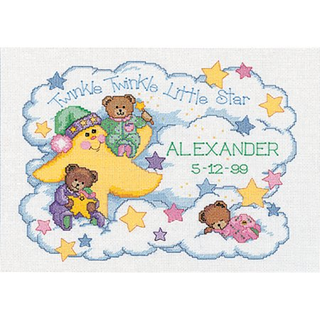 Birth Announcement Counted Cross Stitch - Dimensions