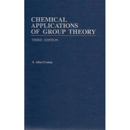 Chemical Applications of Group Theory (Application Of Group Theory In Real Life Ppt)