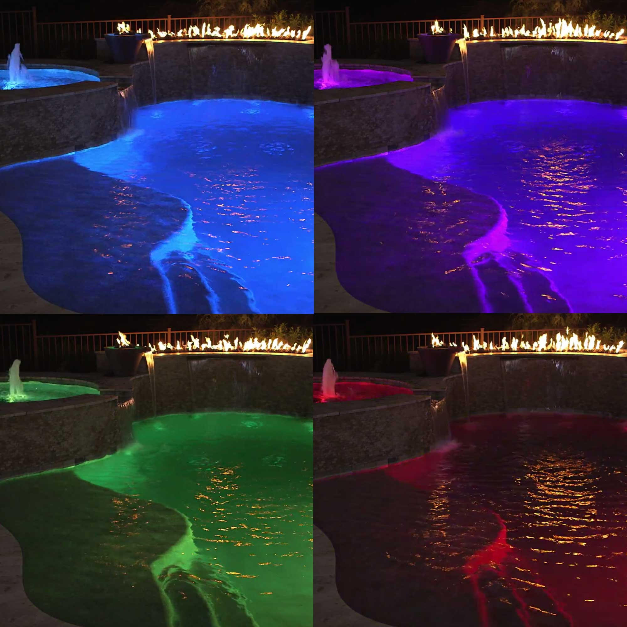 Hayward Universal ColorLogic Multi 12V 10 Color LED Pool Light with 50 Ft Cord - image 4 of 5