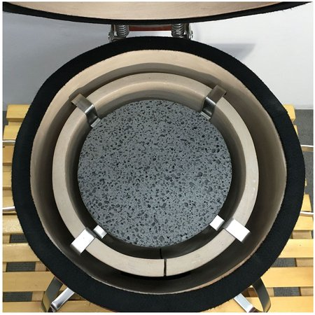 Dual Purpose Lava Stone Heat Diffuser Small By Vision Grills