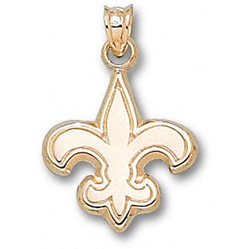 NFL - New Orleans Saints 10K Gold Logo 5/8'' Pendant