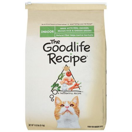 The goodlife recipe indoor dry cat food with real chicken brown the goodlife recipe indoor dry cat food with real chicken brown rice garden greens forumfinder Choice Image