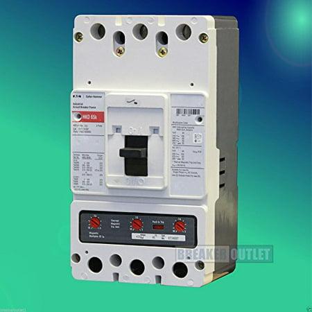 Eaton Cutler Hammer HKD3400 3 Pole 400 Amp 600v 65kA Circuit Breaker HKD HKD3400F