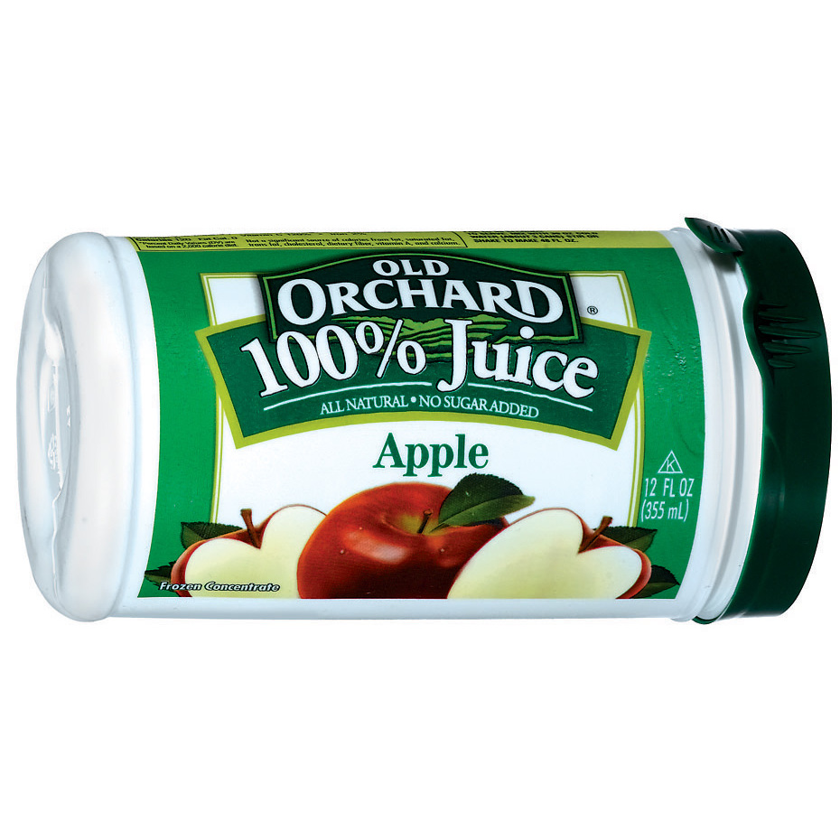 Old Orchard Apple Juice 12 oz. Canister