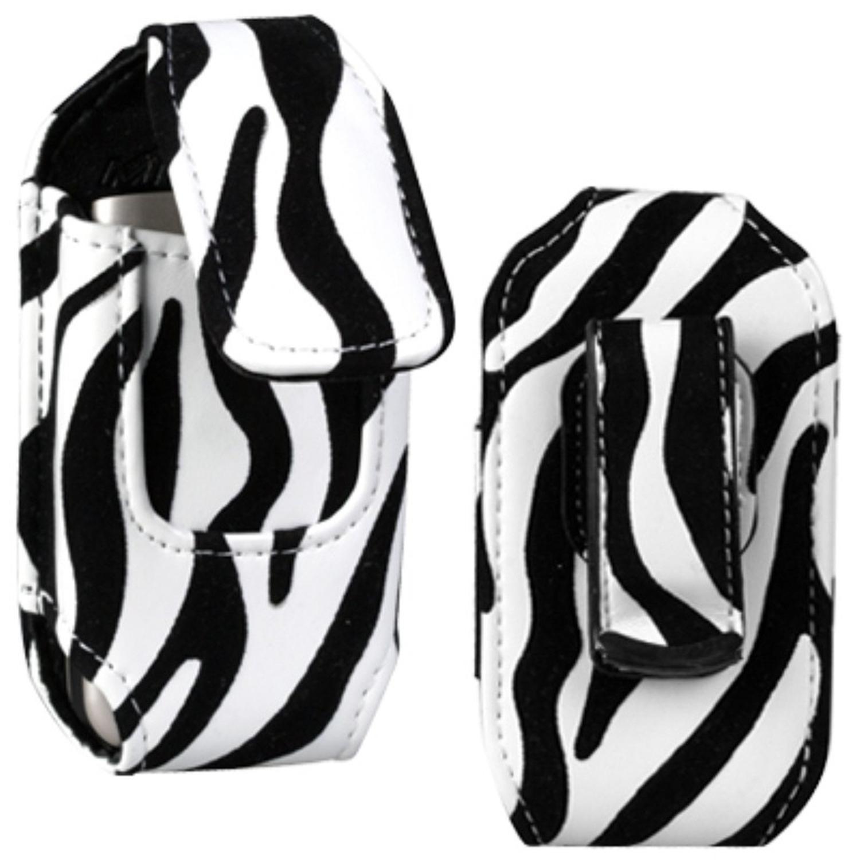 Insten Vertical Pouch Case (6515) (Zebra Skin) (NO Package) For UTSTARCOM8932