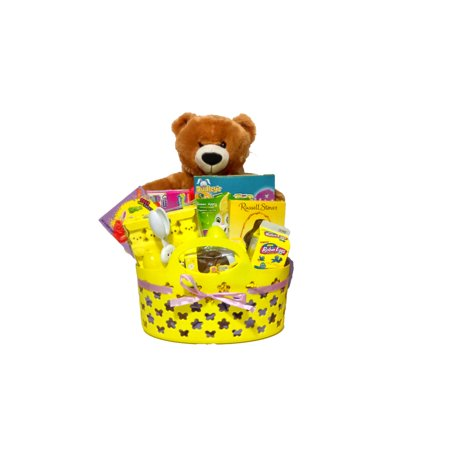 Yummy Bear Easter Treats Gift Basket