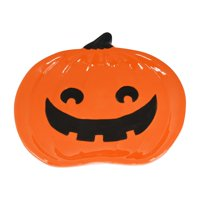 Way To Celebrate Halloween Jack-O-Lantern Serving Dish