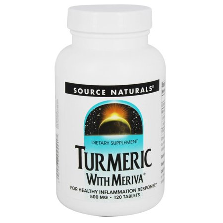 Source Naturals - Turmeric with Meriva 500 mg. - 120 Tablets