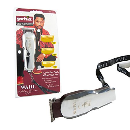 Close Trimmer - Adjustable Close Cutting T-Blade G-Whiz Cordless Hair Trimmer #8986 by Wahl