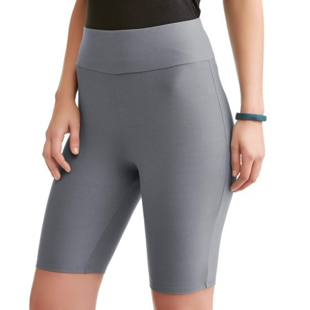 Athletic Works Womens Active High Waist Bike Short