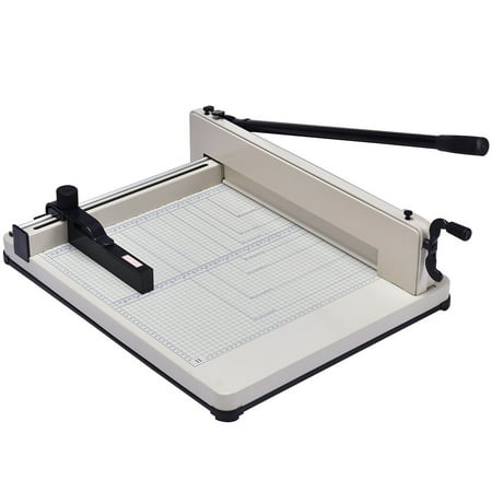 Costway 17 Inch A3 Paper Cutter Guillotine Trimmer Cutting Machine Heavy Duty 400 Sheets ()