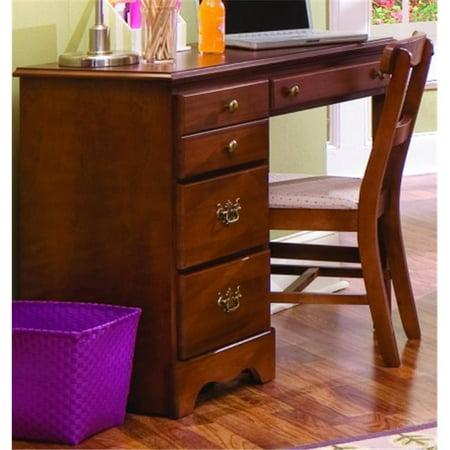 Carolina Furniture 181400 Common Sense Student Childrens Desk In Traditional Cherry ()