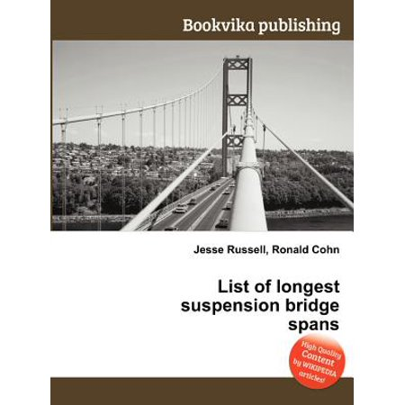 Foot Span Bridge - List of Longest Suspension Bridge Spans