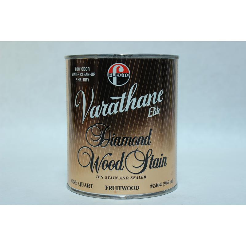 Fruitwood Diamond Wood Stain, 1 Quart Varathane Stain 2404 Fruitwood