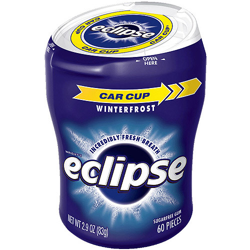 Eclipse Sugar Free Winterfrost Big E Pak Chewing Gum, 60 Ct by WM Wrigley Jr