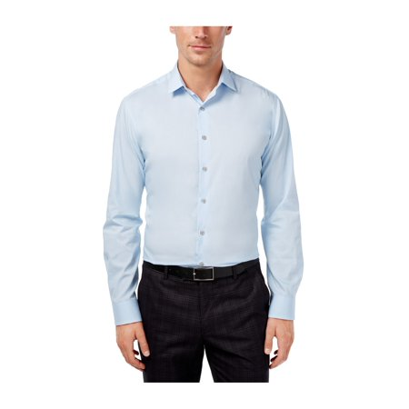 Alfani Mens Performance Button Up Dress Shirt