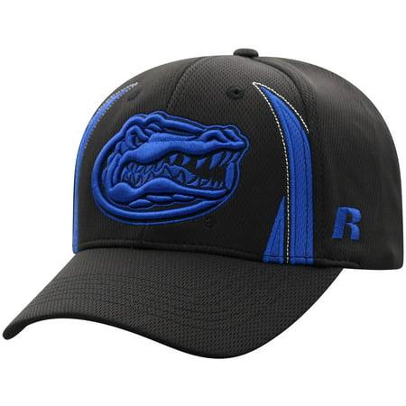 Men's Russell Black Florida Gators React Adjustable Hat - OSFA