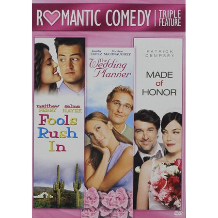 Fools Rush In / Made Of Honor / The Wedding Planner (DVD) - The Wedding Gift