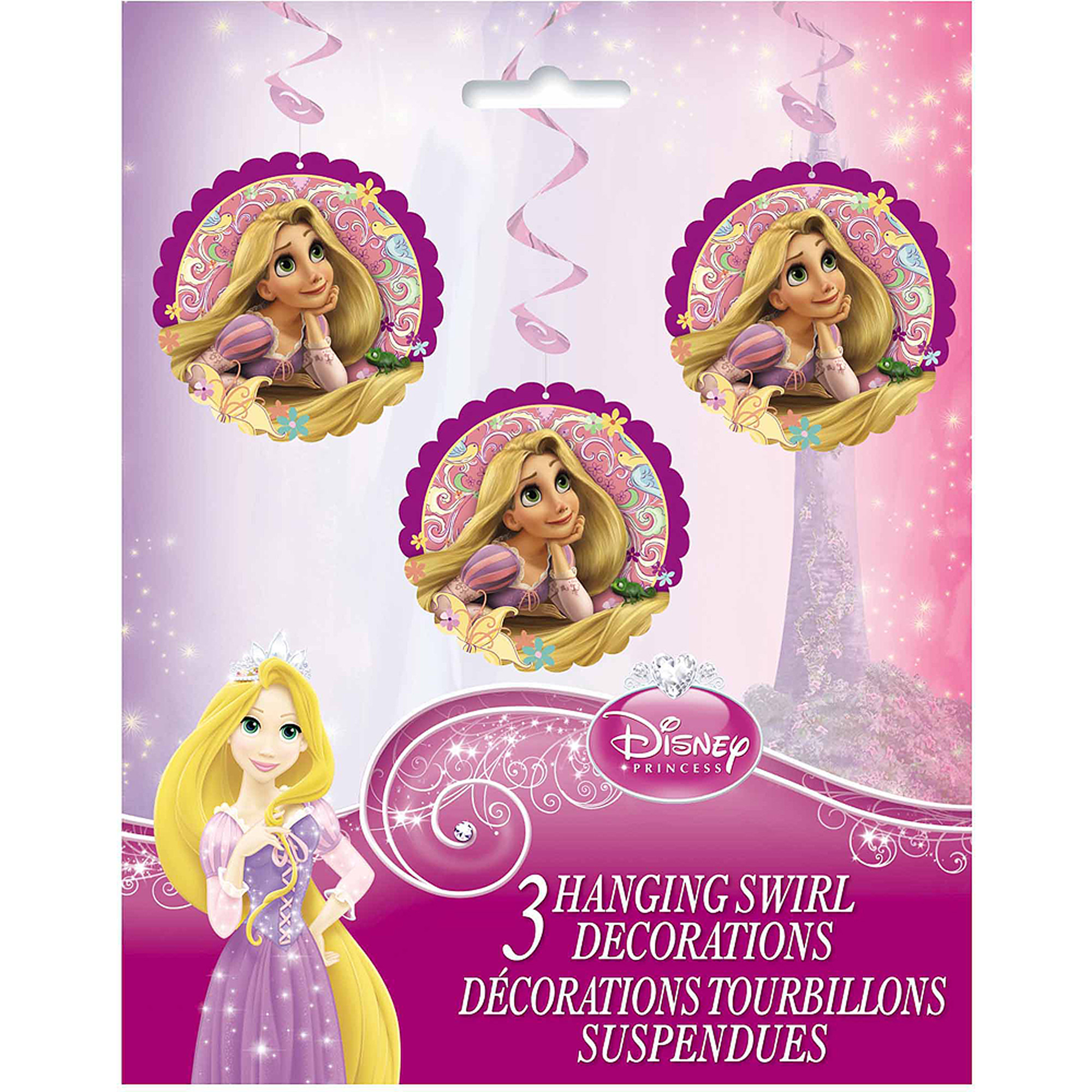 "36"" Hanging Disney Tangled Decorations, 3ct"