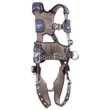 3M DBI-SALA 1113139 Full Body Harness, M, 420 lb., Blue