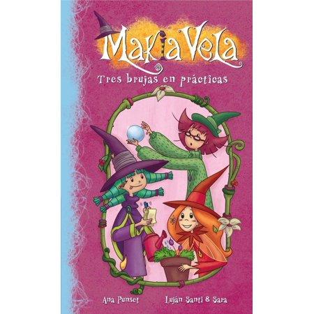 Tres brujas en prácticas (Serie Makia Vela 9) - - Brujas En Halloween