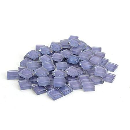 Milltown Merchants 4/10 Inch (10mm) Crystal Glass Mosaic (Purple Mosaic Tiles)