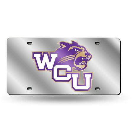 Western Carolina Catamounts NCAA Laser Cut License Plate Tag