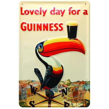 Guinness Metal Sign-Toucan (Weathervane Trade Sign)