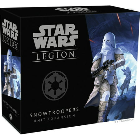 - Star Wars Legion: Snow Troopers Unit Strategy Board Game Expansion