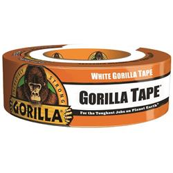 The Gorilla Glue 5121470 6025001 35 Yards Gorilla Tape, White