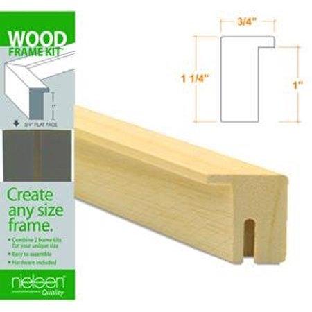 Wood Frame Kits natural 20 in., Nielsen Bainbridge Ayous Wood Frame ...