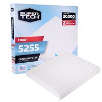 SuperTech Cabin Air Filter 5255, Replacement Air/Dust Filter for Ford