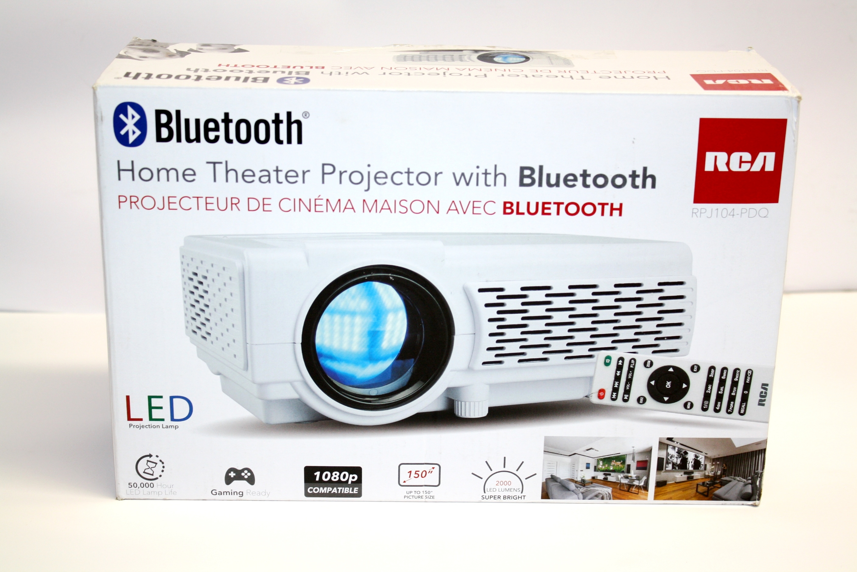 Rca 1080p Bluetooth Led Home Theater Projector Rpj104 Pdq Manufacturer Refurbished Walmart Com Walmart Com