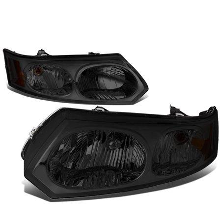 04 Saturn Ion Sedan (For 2003 to 2007 Saturn Ion Headlight Smoked Housing Amber Corner Headlamp 04 05 06 Sedan)