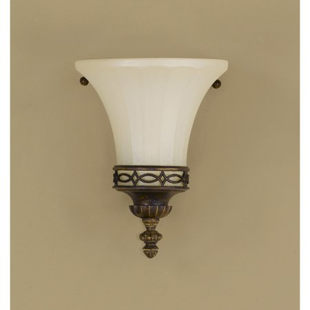 Feiss Drawing Room WB1330WAL Wall Fixture - 6.25W in. - Walnut