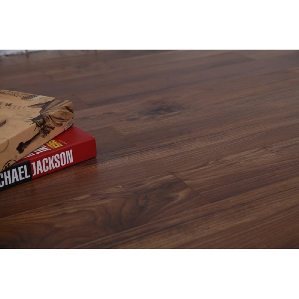 Dekorman Vintage Hickory Coast Collection 12mm Thick x 47.83 in Length x 4.96 in Width Laminate Flooring