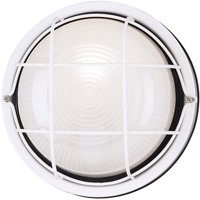 Westinghouse Lighting 6783600 White One Light Outdoor Wall Fixture