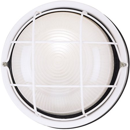 Westinghouse Lighting 6783600 White One Light Outdoor Wall Fixture ()