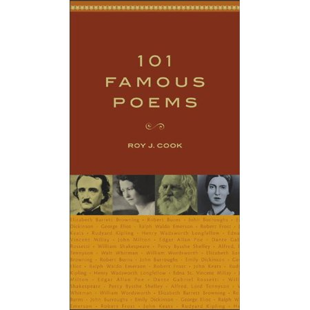 101 Famous Poems (Hardcover) ()