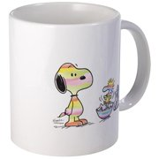 CafePress Snoopy And Woodstock Easter Mug Unique Coffee Mug, Coffee Cup CafePress by