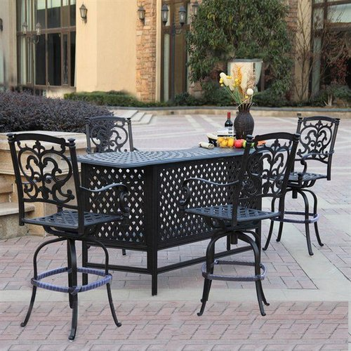 Darlee Santa Barbara 5 Piece Bar Set