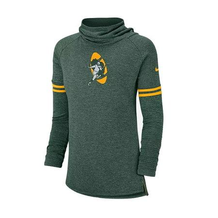 Nike Mock Neck (Womens Small Packer Football Mock-Neck Sweater S)