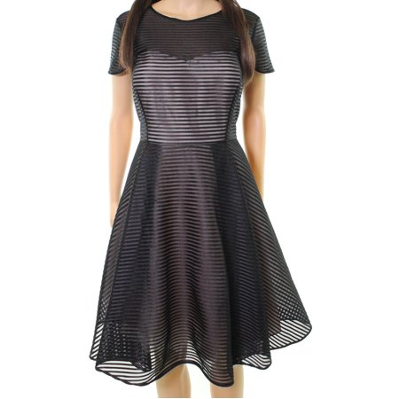 812ff5ac26 Ted Baker - Ted Baker NEW Black Womens 12 (UK 5) Carniva Illusion A-Line  Dress - Walmart.com