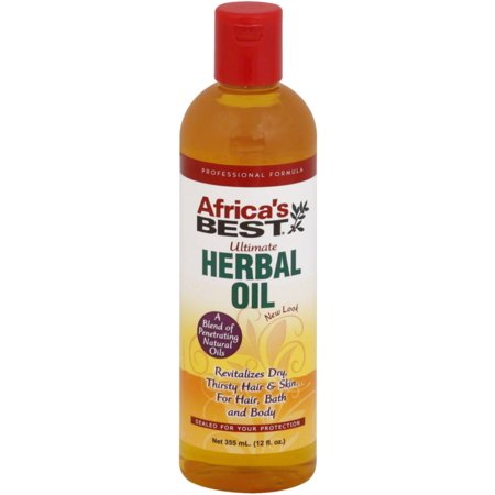 Africa's Best Ultimate Herbal Oil 12 oz