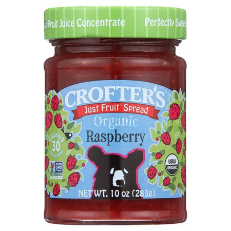 Crofters Just Fruit Spread   Raspberry 10 Oz Jars   Pack Of 3